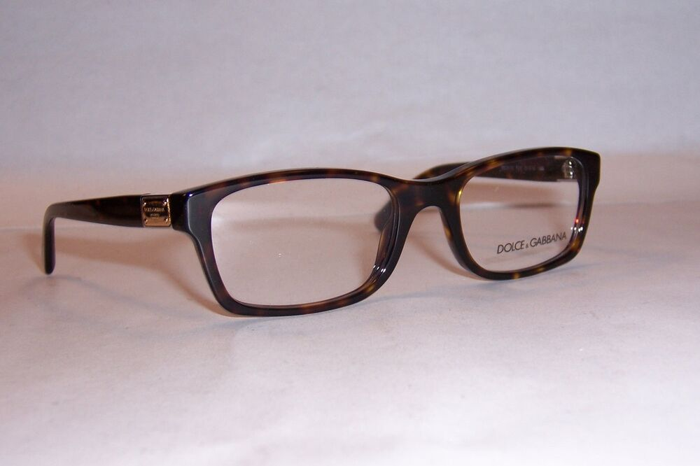 NEW DOLCE & GABBANA EYEGLASSES DG 3170 HAVANA 502 51MM ...