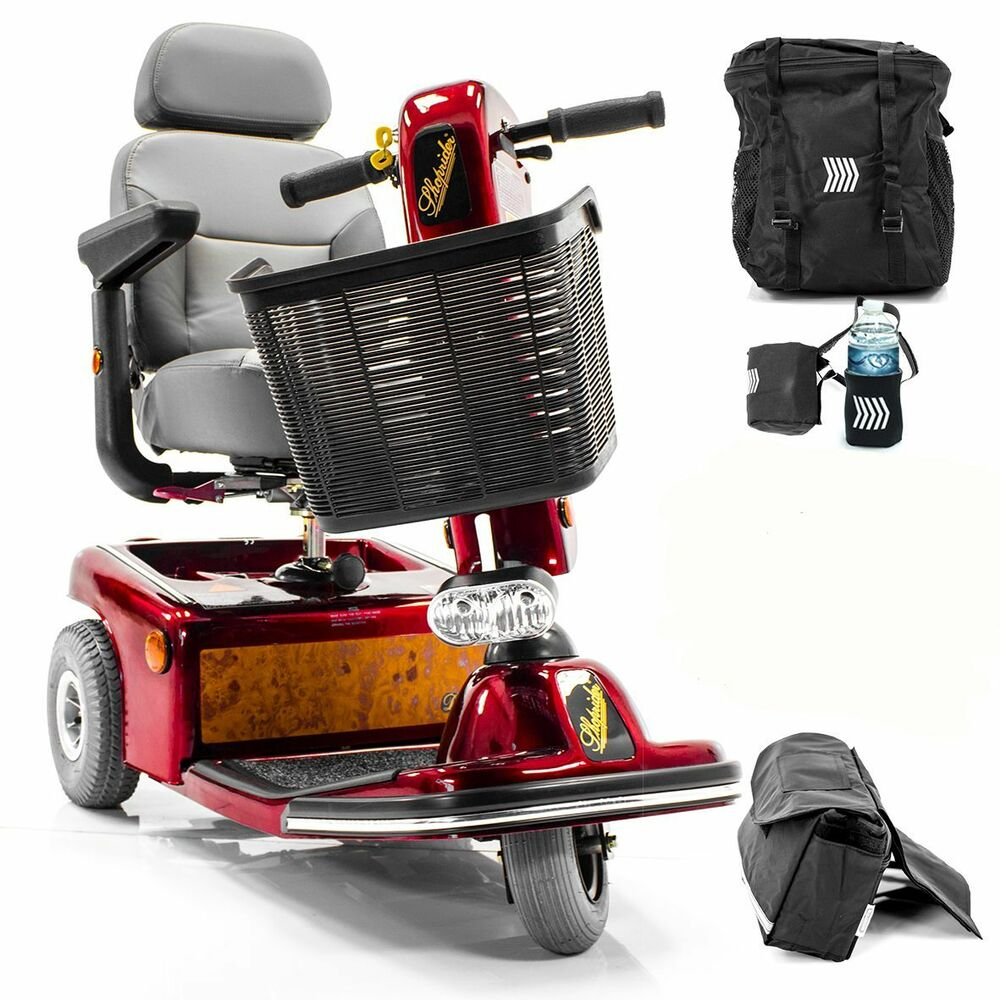 Shoprider sunrunner 3 wheel electric mobility scooter 888b for Mobility scooters