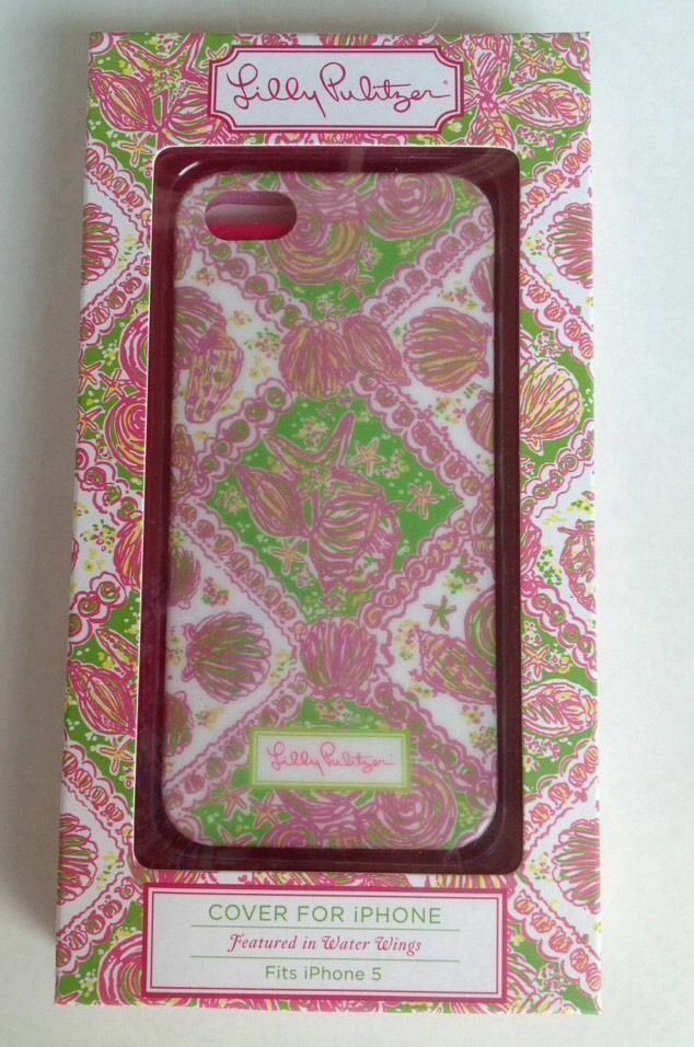 Lilly Pulitzer Phone Case Water Wings iPhone 5 5s Cover NEW : eBay