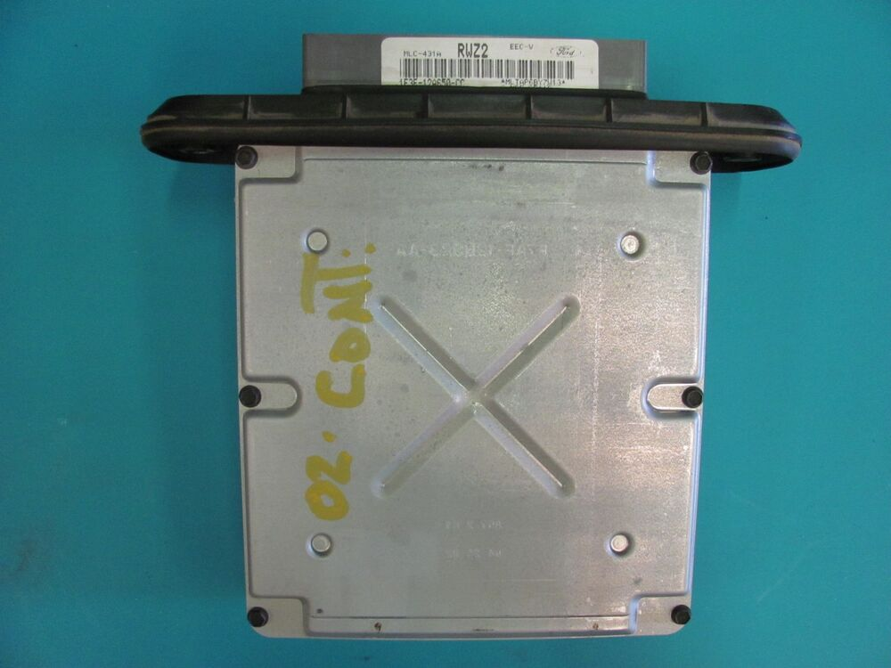 1998 99 2000 2001 2002 lincoln continental engine module ecu xf3f 12a650 cd ebay. Black Bedroom Furniture Sets. Home Design Ideas