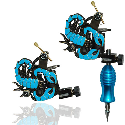 Blue scorpion professional tattoo machine for power supply for Tattoo gun parts