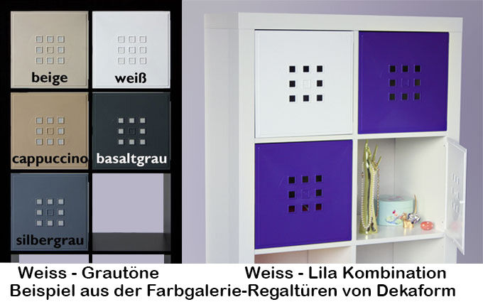regalt r w rfel regal flexi ikea expedit kallax erg nzung. Black Bedroom Furniture Sets. Home Design Ideas
