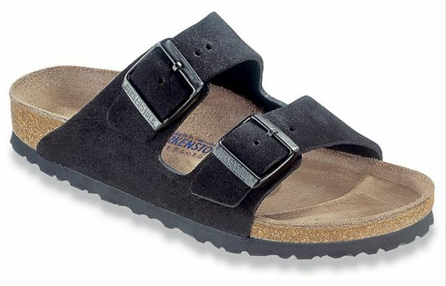Birkenstock Women S Arizona Soft Footbed Two Strap Suede