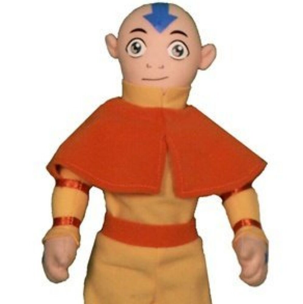 """Avatar Toys: Avatar The Last Airbender 10"""" Aang Bendable Plush Soft"""