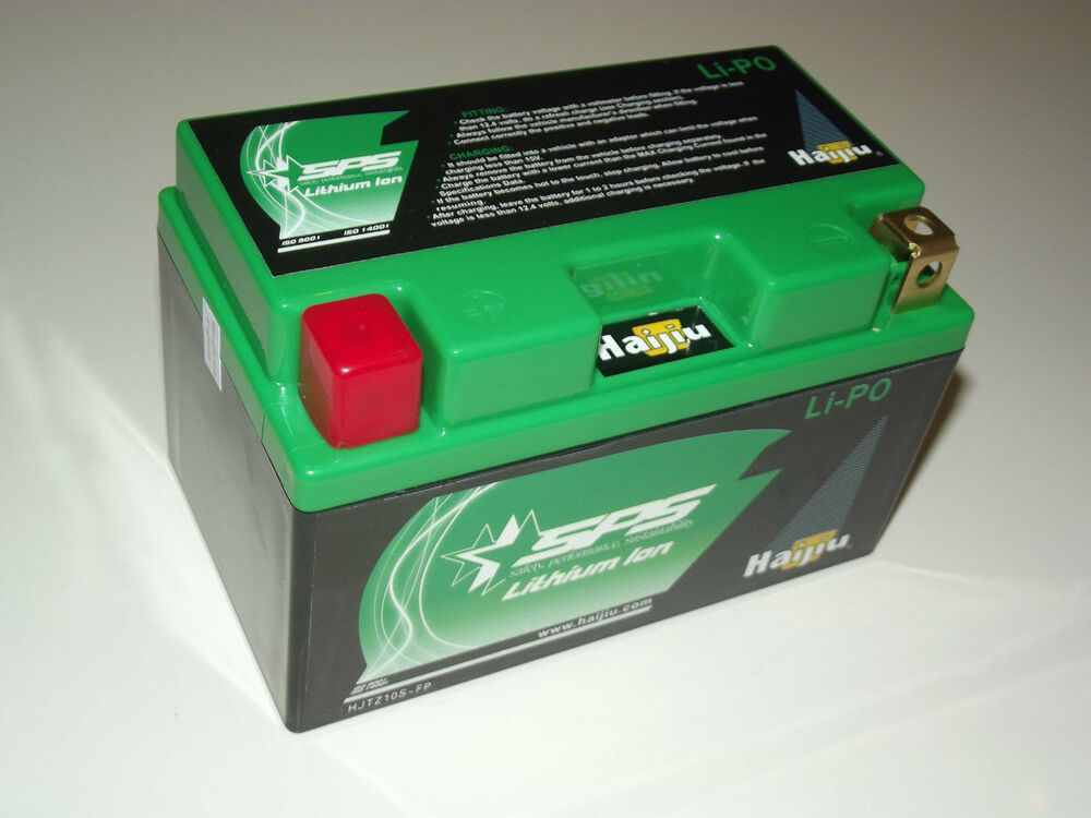 lithium ion 12v motorcycle battery race lightweight high power lipo10a ytz10s ebay. Black Bedroom Furniture Sets. Home Design Ideas