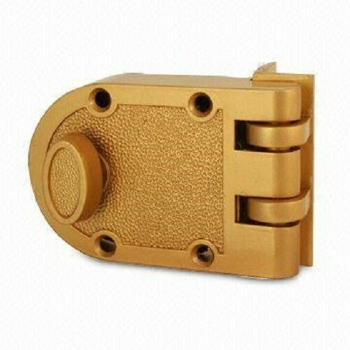 Jimmy Proof Deadbolt Lock Solid Brass Single Cylinder
