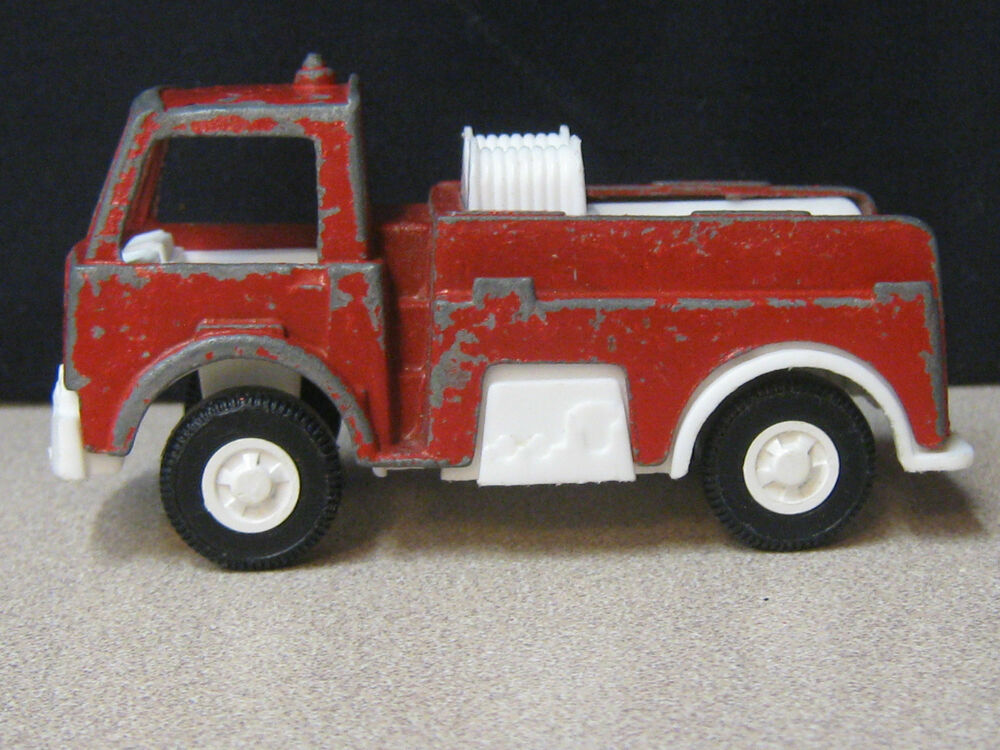 Vintage Tootsie Toy Fire Truck Car 1970 Diecast And