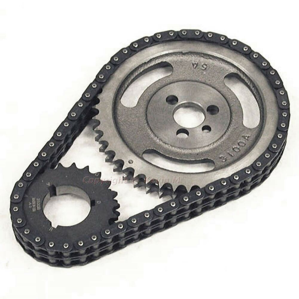 Chevrolet Performance 12562818 Timing Chain Cover: New True Roller Timing Set Chevy 350 400 327 305 283 262