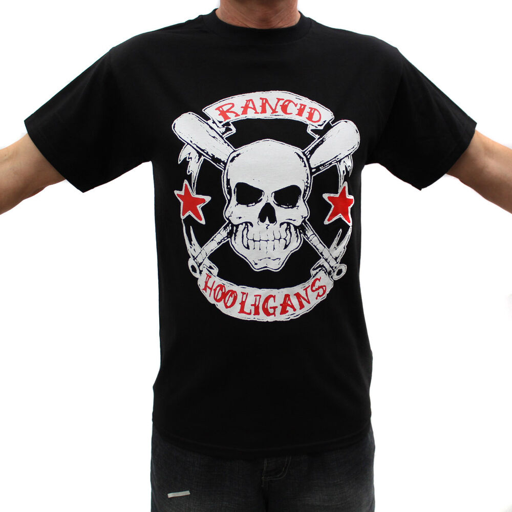 rancid hooligans punk rock band graphic t shirts ebay. Black Bedroom Furniture Sets. Home Design Ideas
