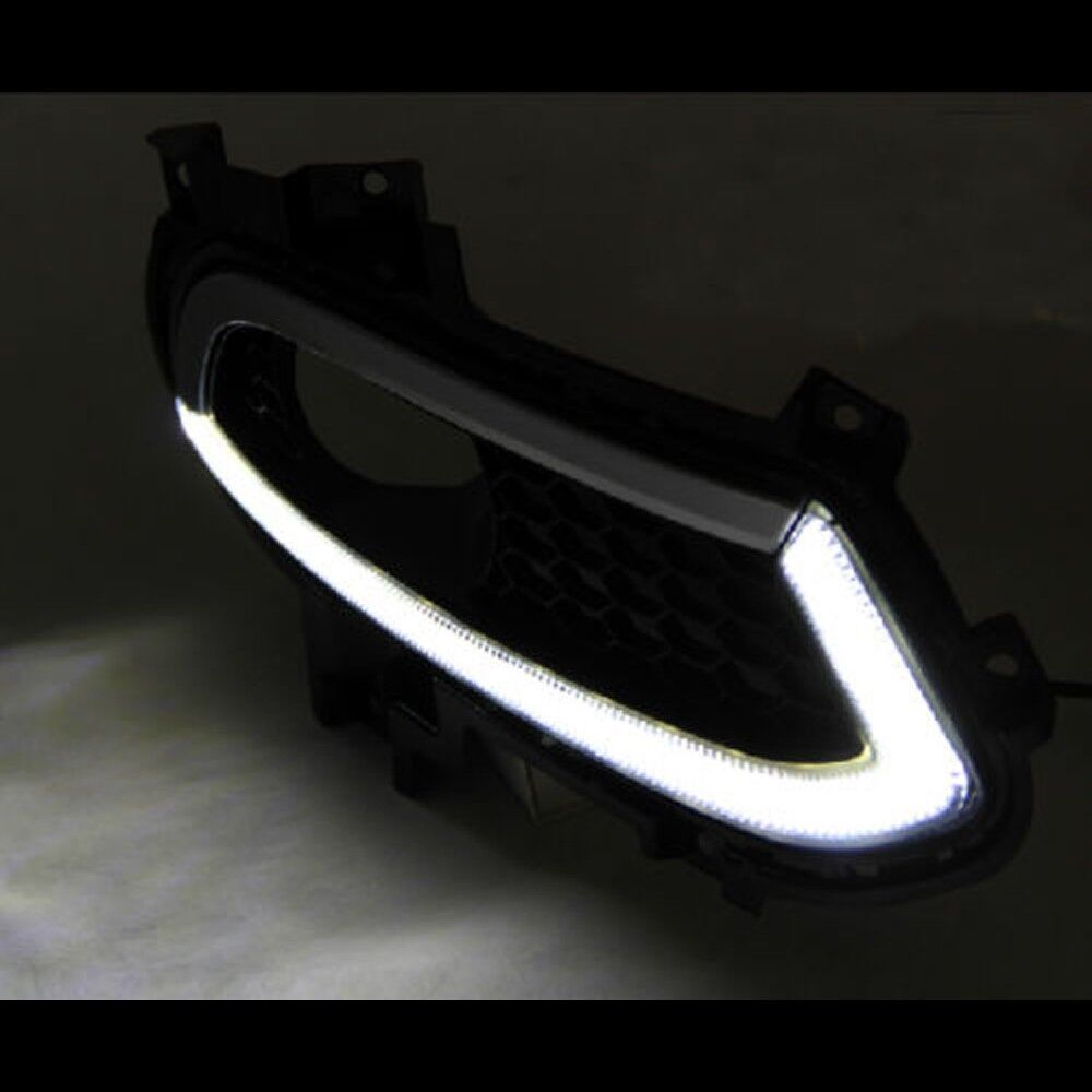 led daytime running lights drl fog lamp for ford fusion. Black Bedroom Furniture Sets. Home Design Ideas