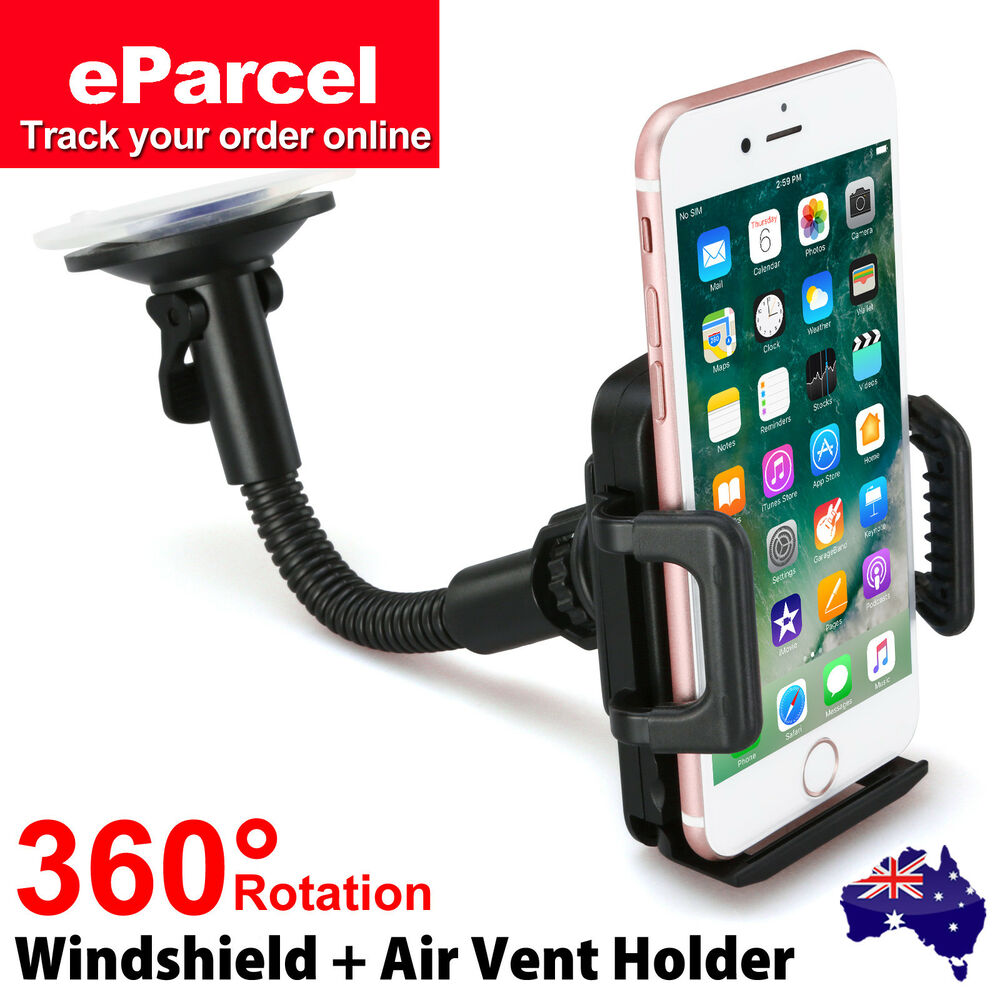 iphone 6 car mount 360 176 mount car holder windshield cradle for iphone 7 6 14952