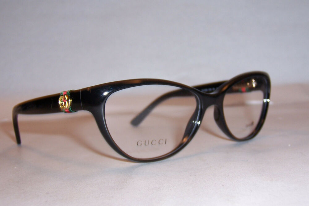 NEW GUCCI EYEGLASSES GG 3682 GG3682 D28 BLACK 53mm RX ...