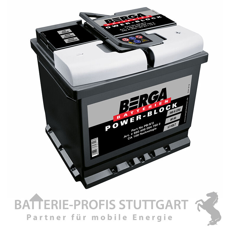berga autobatterie powerblock 2 12v 60ah 540a d59 ersetzt. Black Bedroom Furniture Sets. Home Design Ideas