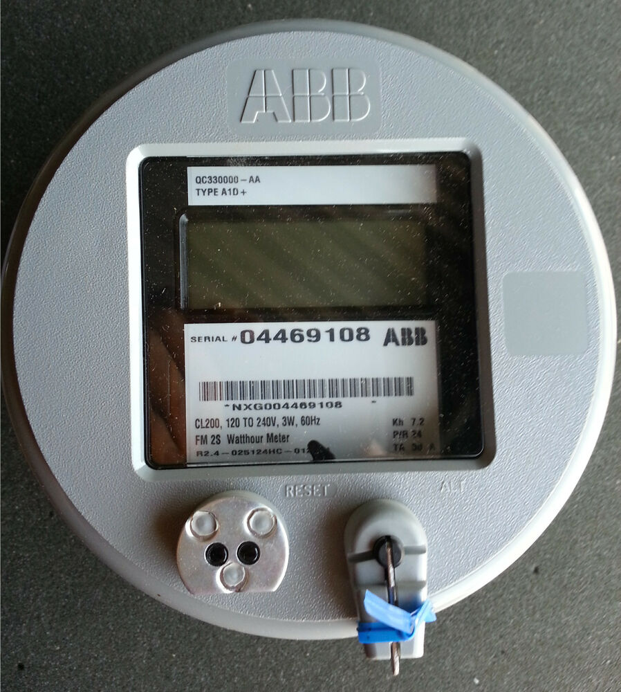 Watthour Meter Tester : Abb qc aa a d cl to v w hz fm s
