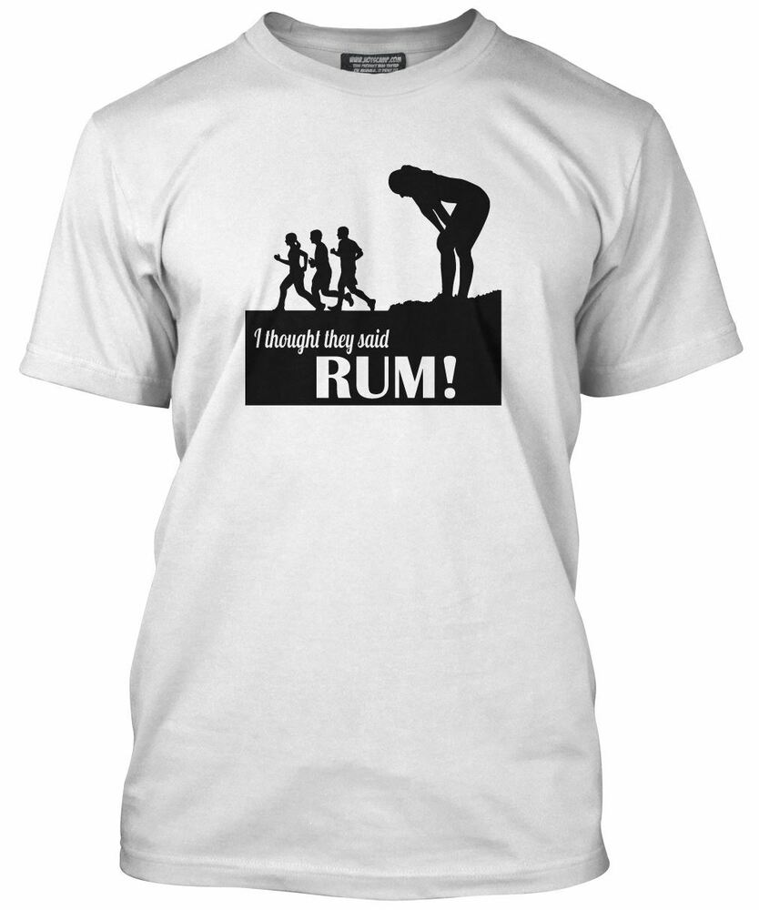 i thought they said rum running loose fit t shirt ebay