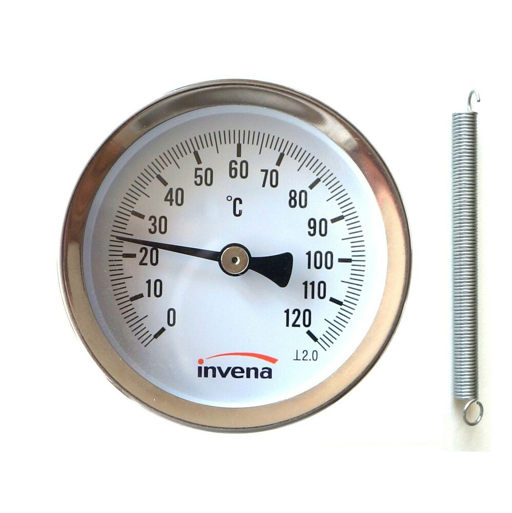 Fork Lift Gauge : Home industrial clip on pipe thermometer temperature