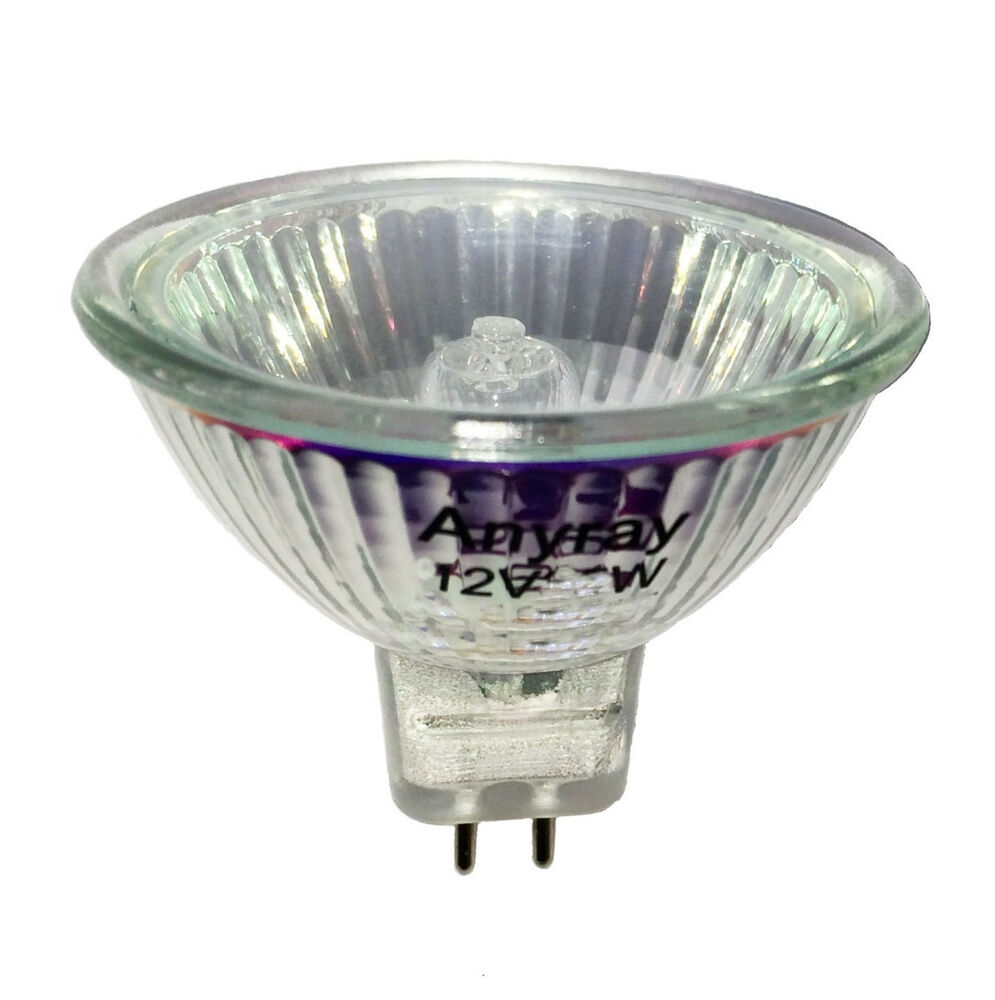 Q75mr16em Mr16 Halogen Light Bulb: Anyray (5) MR16 12-Volts 35W FMW Flood Halogen Light Bulbs