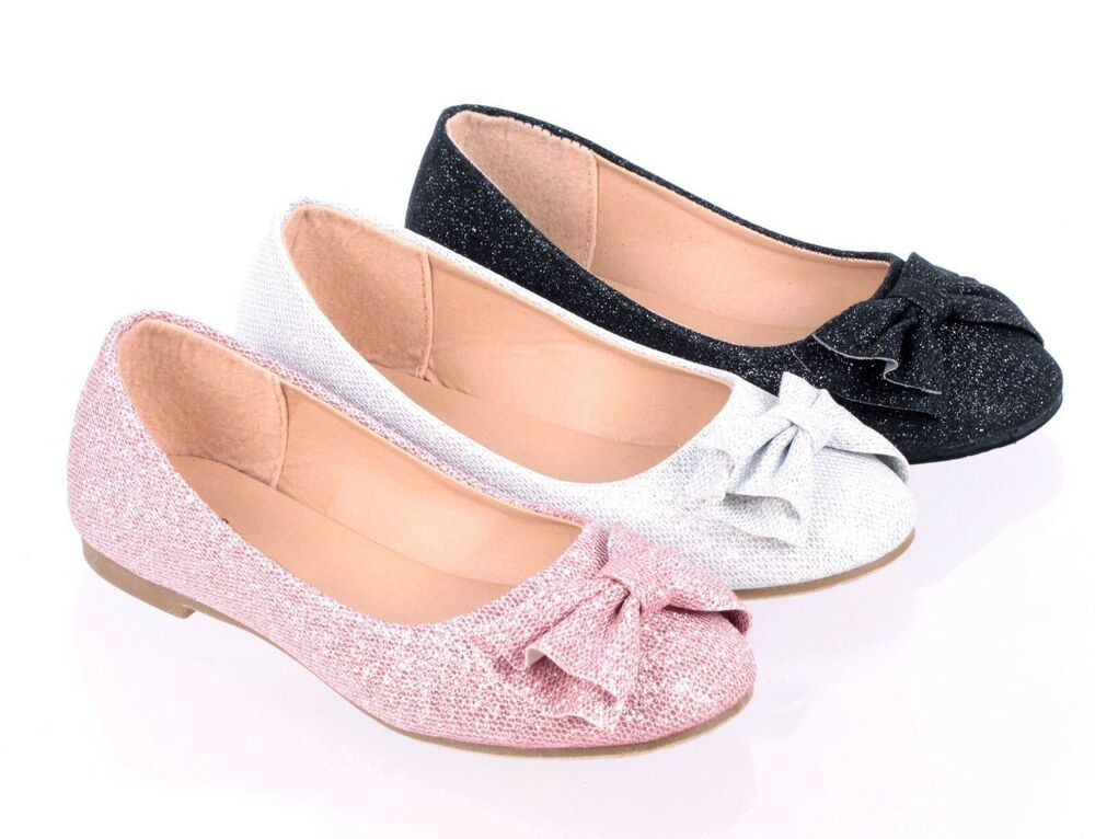 4 Color Fashion Glitter Bowknot Kids/Youth Sneakers Girls ...