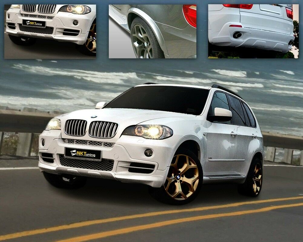 bmw x5 e70 2006 2010 body kit aero look ebay. Black Bedroom Furniture Sets. Home Design Ideas