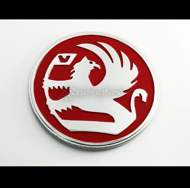 Corsa c stickers - Red Griffin Badge Emblem Decal Vauxhall Opel Holden Gm