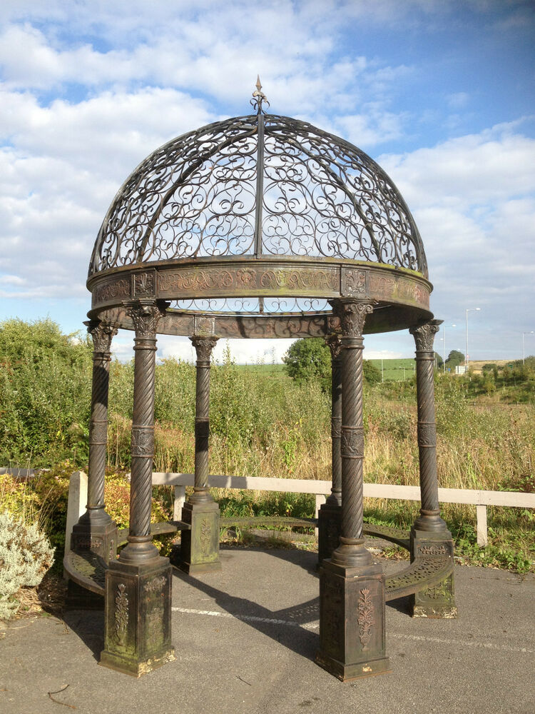 Victorian Style Cast Iron Gazebo Architectural Bandstand
