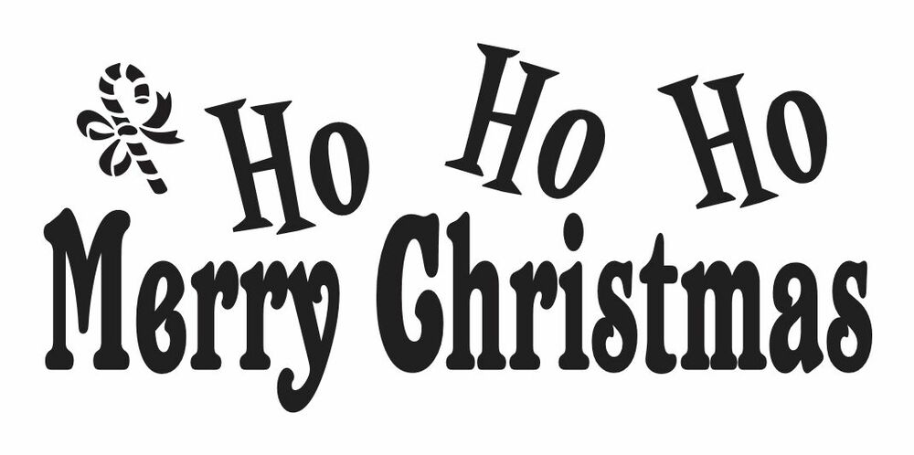 This is a picture of Enterprising Merry Christmas Stencil Free Printable