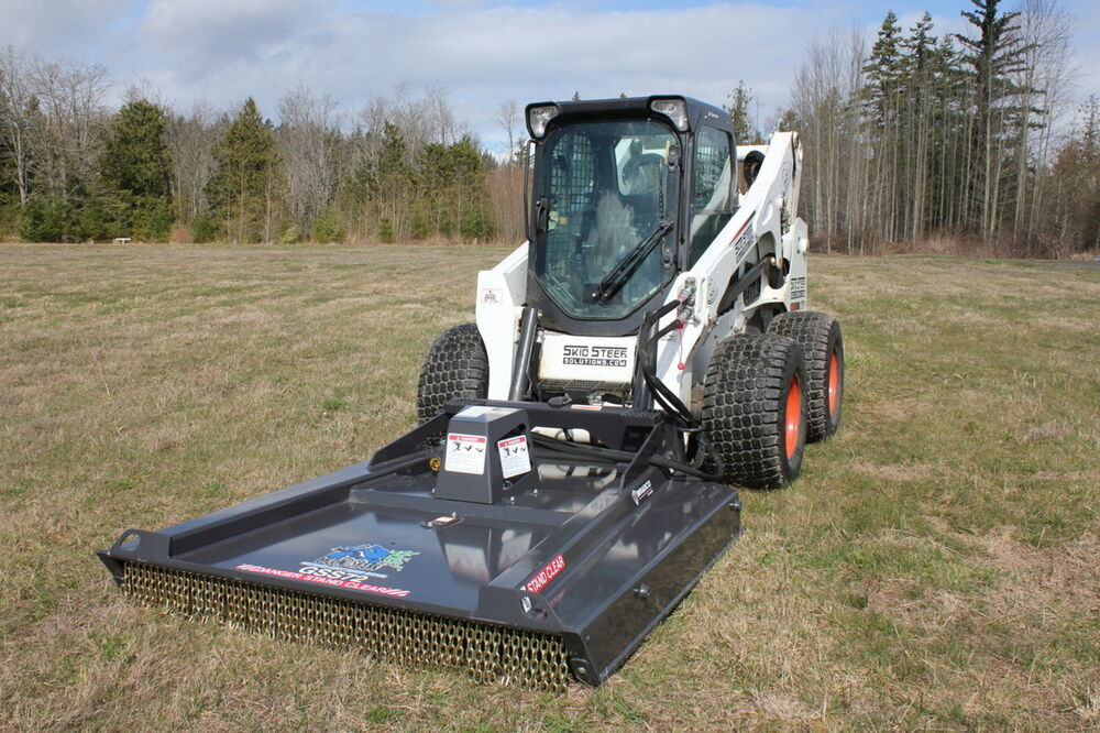 Skid Steer Bradco 78 Quot Ground Shark Brush Cutter Low Flow