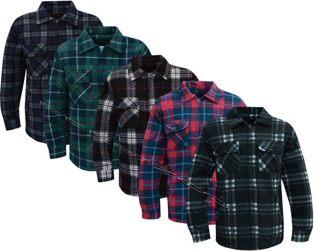 Mens Lined Flannel Shirts