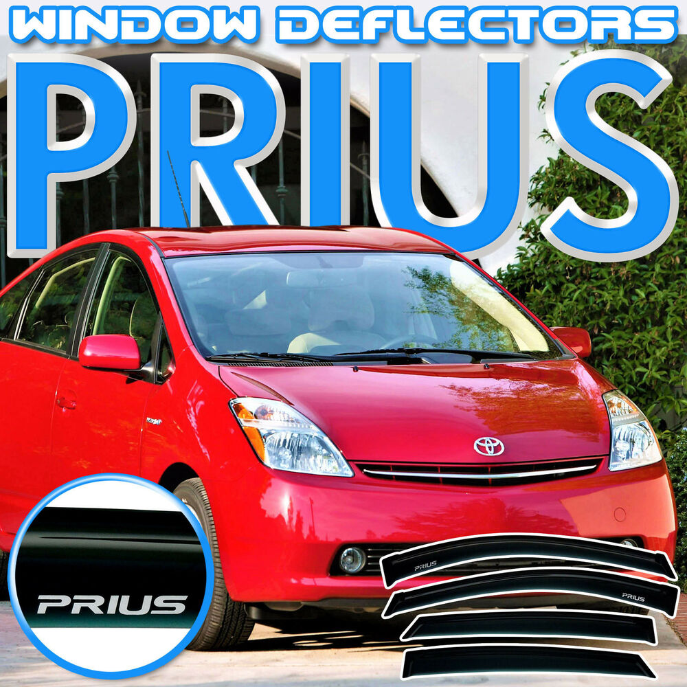 Toyota Prius 2004 2009 Side Window Vent Deflectors With