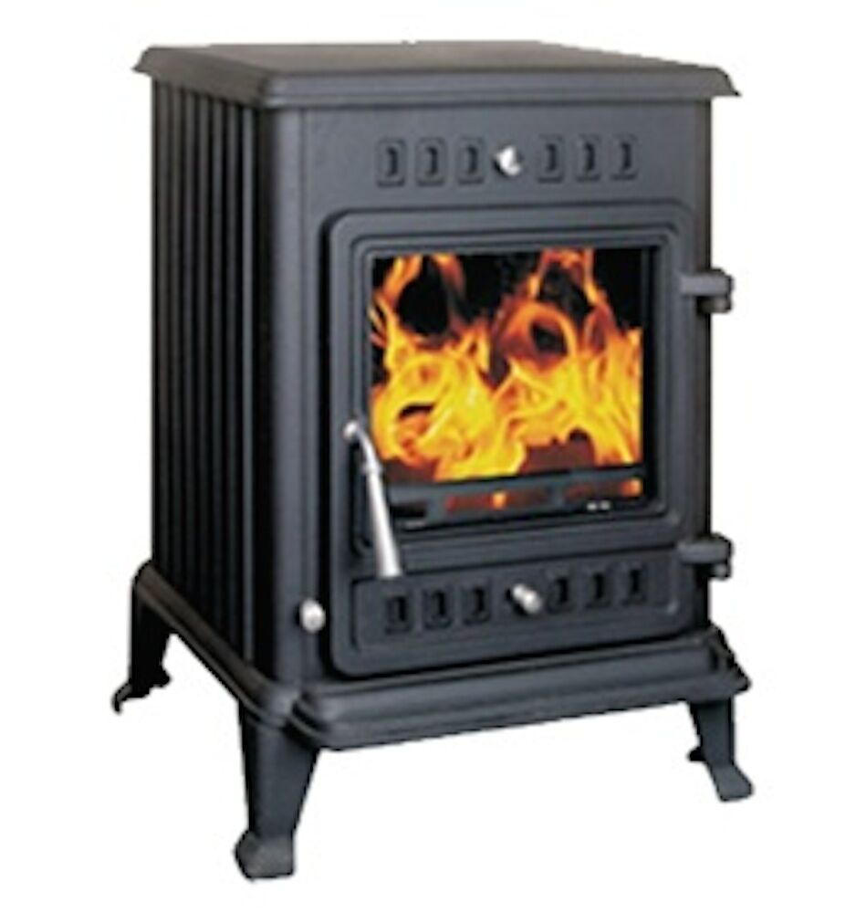 Joule 6 Kw Multi Fuel Wood Burning Stove Fire Ebay