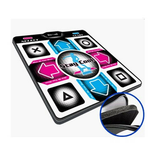 Playstation Ps1 Ps2 Deluxe Ddr 1 Inch Foam Dance Mat Pad