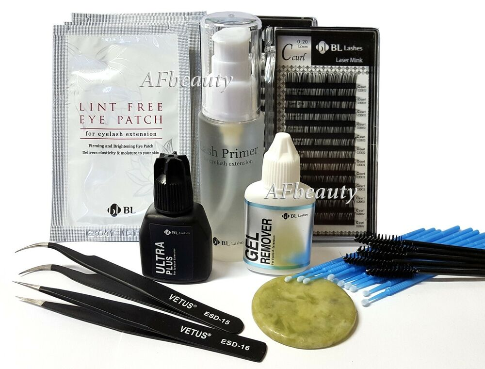 Bl Lashes Blink Eyelash Extension Pro Kit C015810mm Set Mink