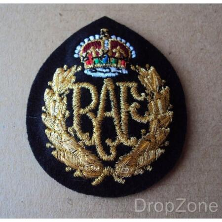 img-NEW RAF Royal Air Force Queens Crown Other Airmen Cap Badge