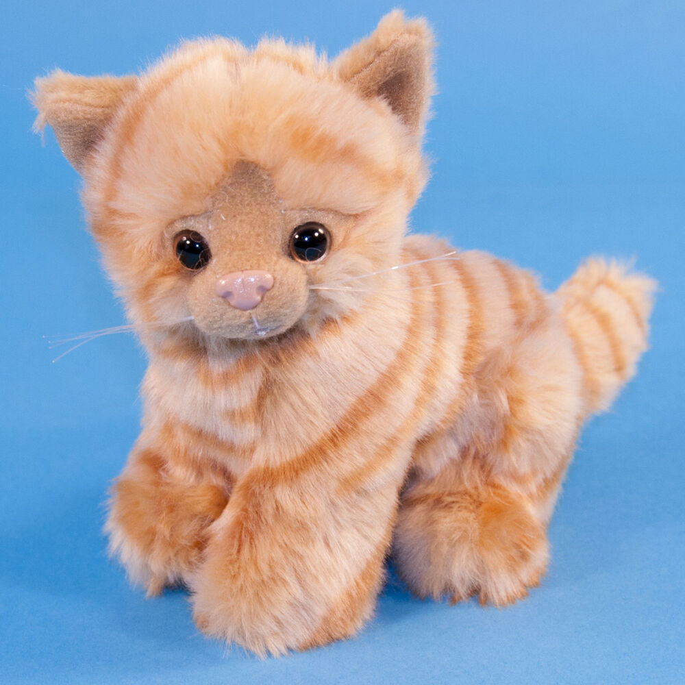 Ginger Tabby Cat Toy