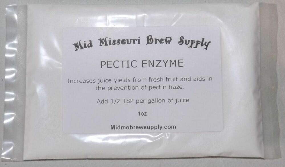 PECTIC ENZYME for Wine Making, 1oz. Free Shipping!!! | eBay