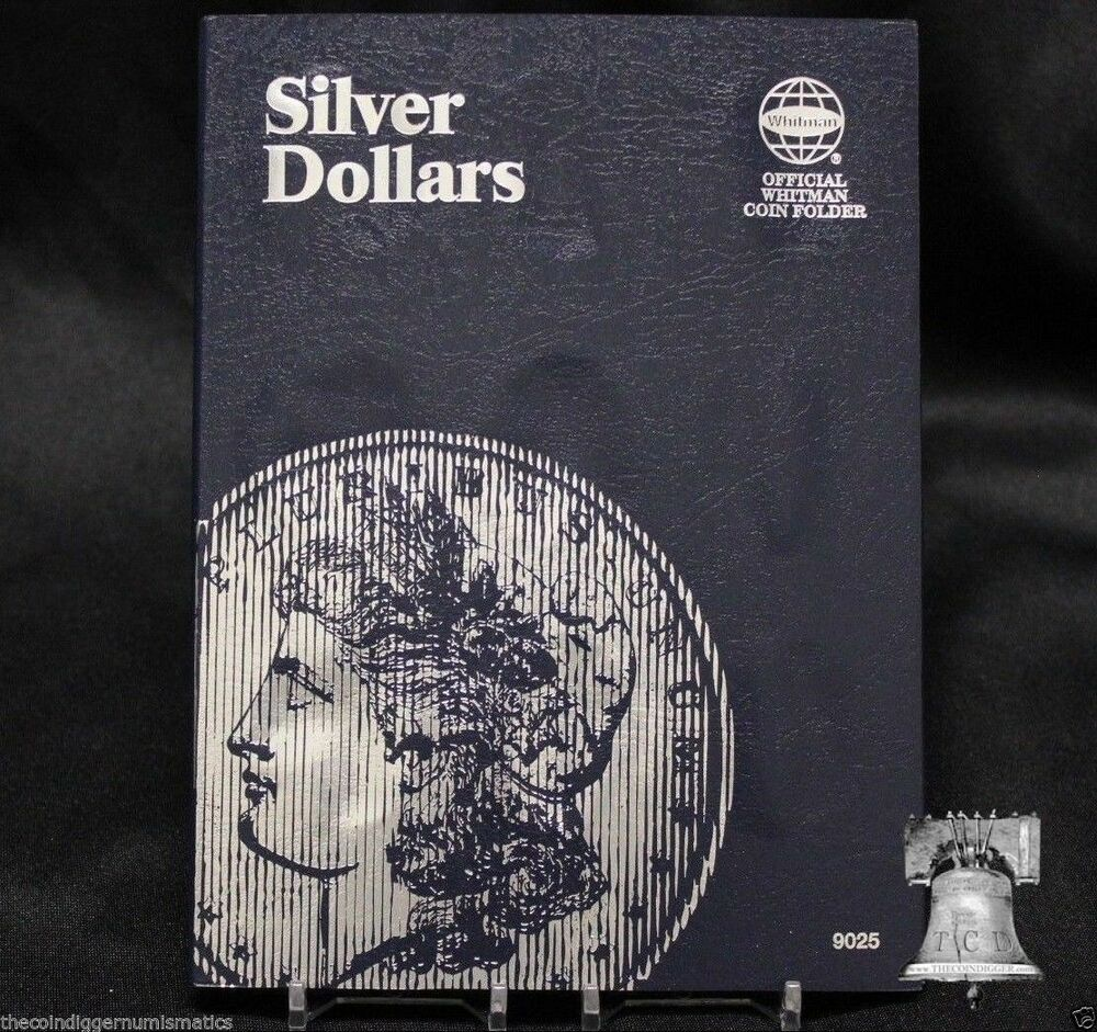 Silver Dollar Coin Folder Album Holds 27 Morgan Peace