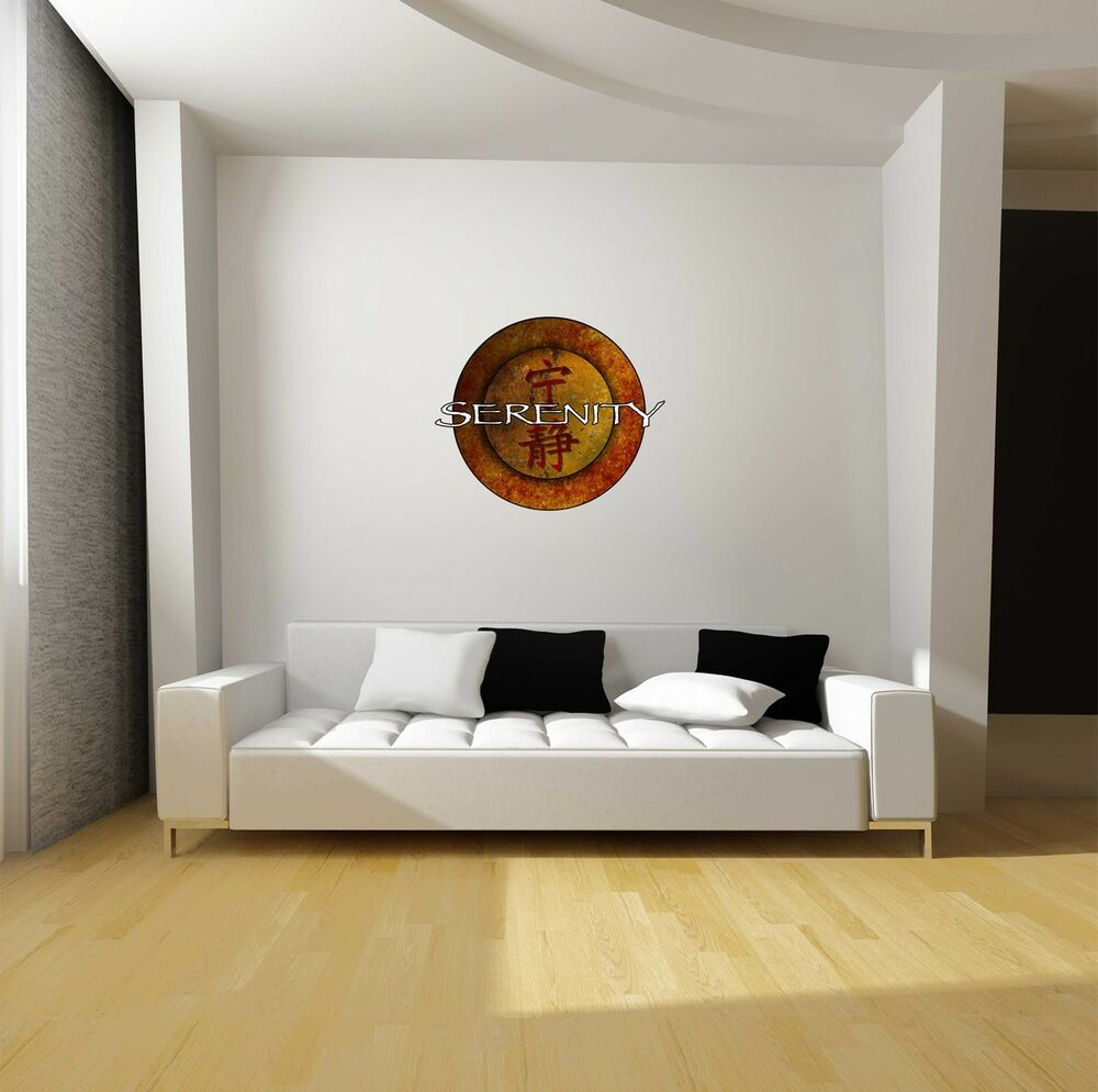 Firefly Serenity Logo Repositionable Wall Decal Sticker-TV