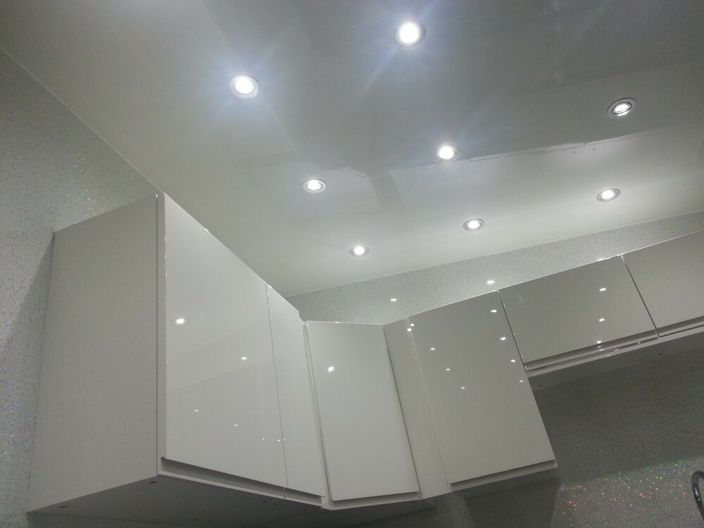 9 gloss white pvc panels bathroom ceiling kitchen ceiling for Bathroom 9 foot ceiling