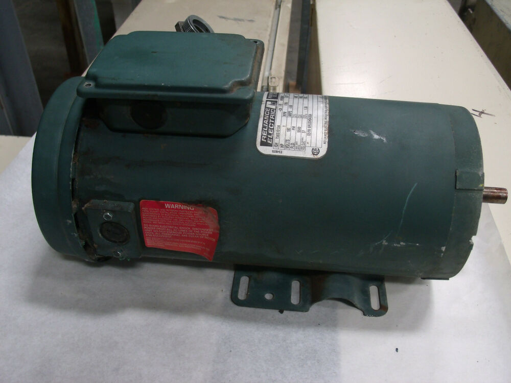 Reliance Electric 1hp Dc Motor Model T56s1013a Lot 3 Ebay