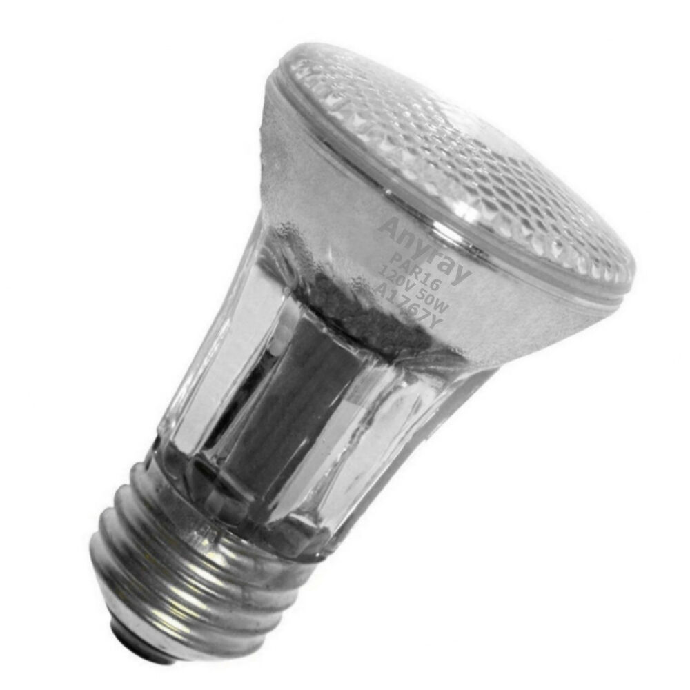 3mr16 E26 W Mr16 Flood Led Light Bulb: 50W 45W 35W E26 Medium PAR16 120V Narrow Flood Halogen