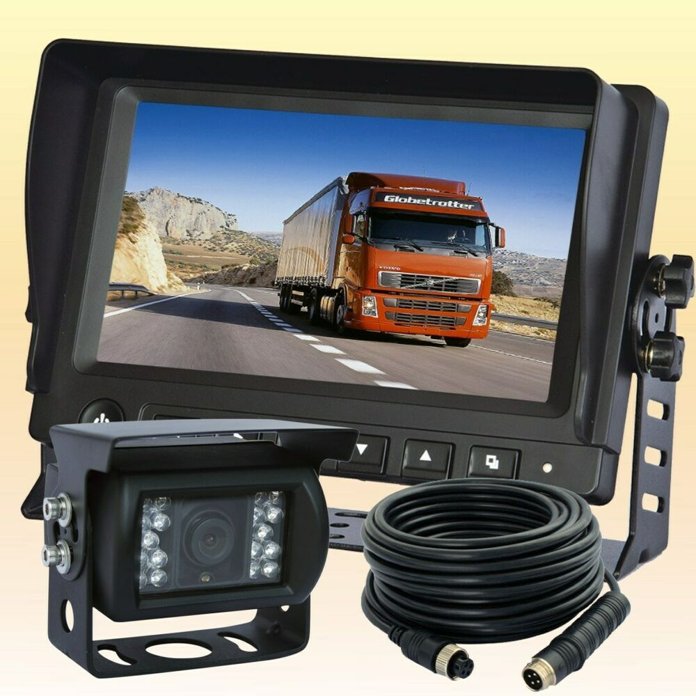 7 U0026quot  Digital Wireless Rear View Backup Camera System For