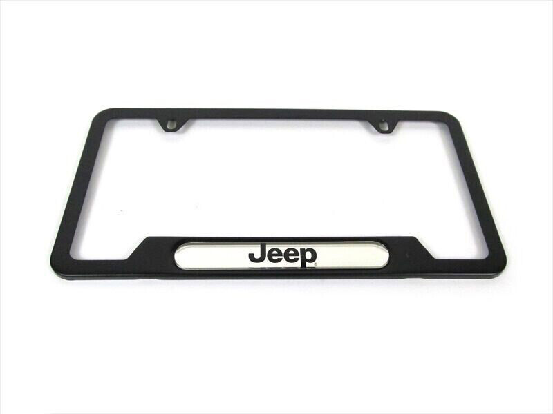 93 17 Jeep License Plate Frame Front Or Rear Fitment Jeep