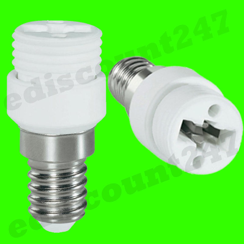 HIGH QUALITY SES E14 to G9 Adaptor Socket LED Converter UK ...