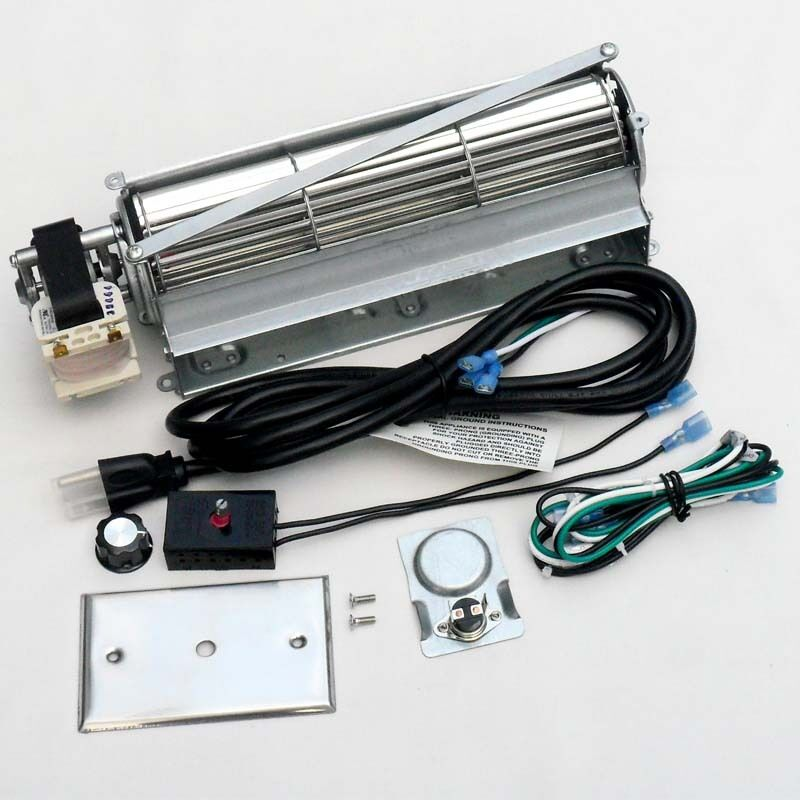 Oven Fans And Blowers : Universal squirrel blower fan kit for wood gas burning