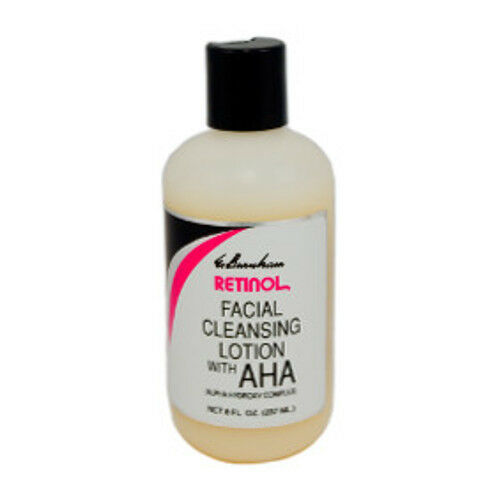 aha facial cleansers