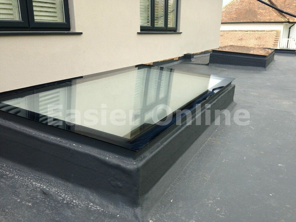 Easier online rooflight skylight t g self clean glass pre for T g roofing