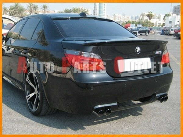 bmw 668 jet black ac trunk lip ac roof spoiler 04 10. Black Bedroom Furniture Sets. Home Design Ideas
