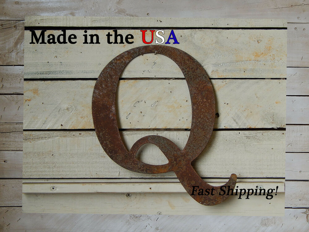 8 Quot Metal Letter Wall Hanging Bedroom Decoration Capital