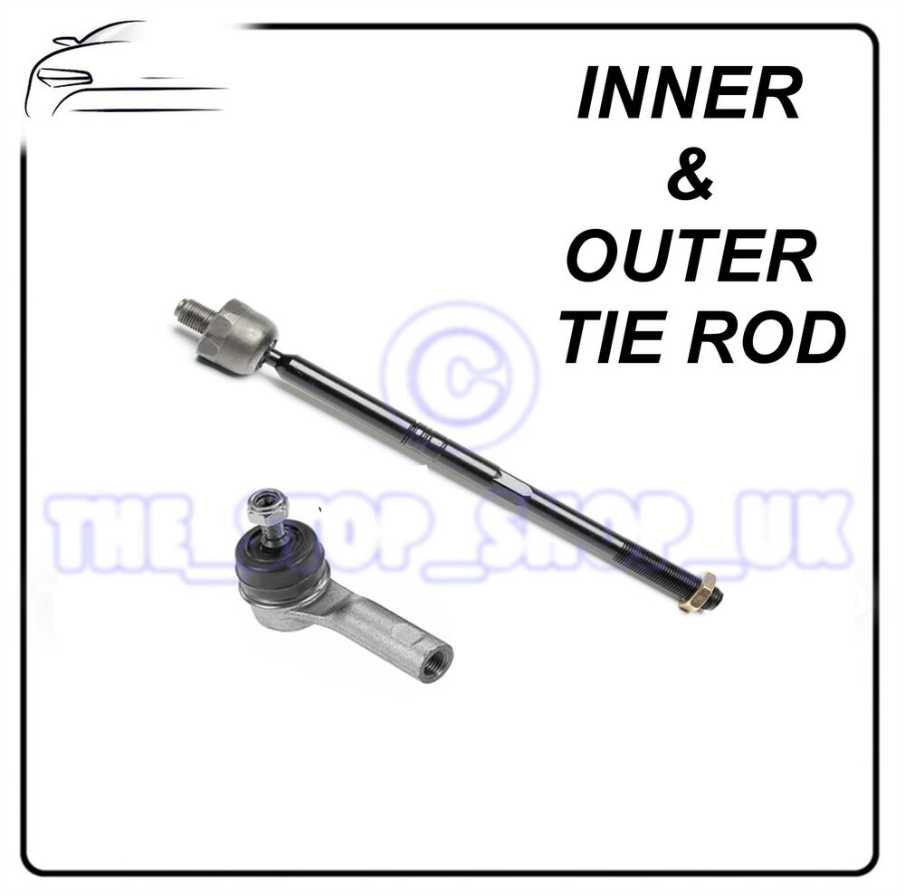 iveco daily i inner  u0026 outer tie rod end steering track rod
