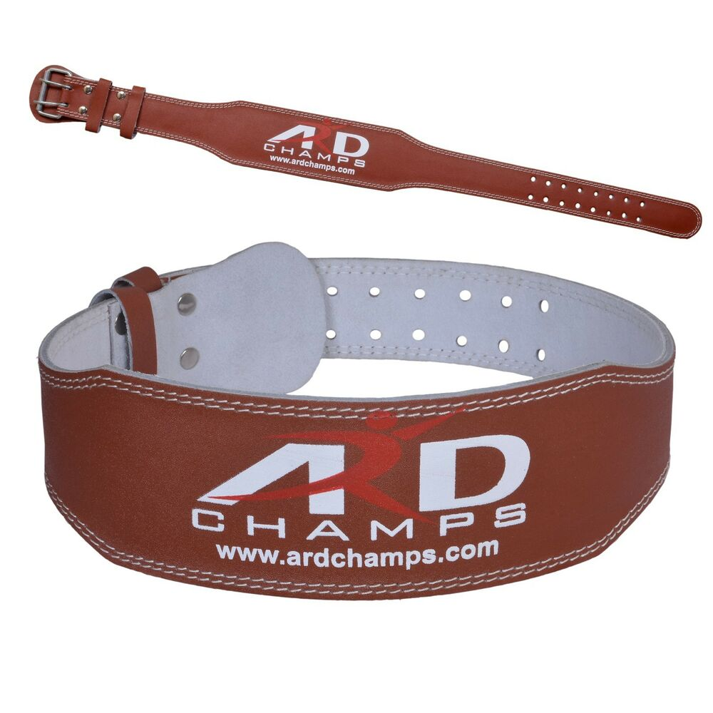 ard weight lifting 4 quot leather belt back support